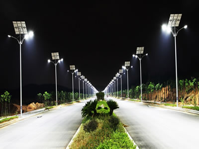 Solar street LED Lights