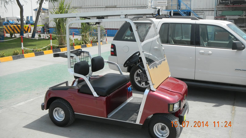 Golf Cart powered by Solar PV System