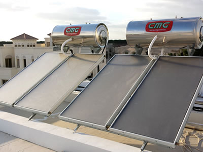 Solar Thermal Water Heaters